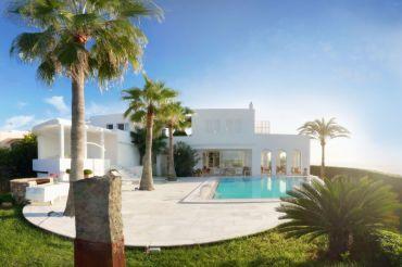 Ibiza-Style Villa in Prime Location