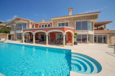 Mediterranean new build villa in a fantastic hillside location