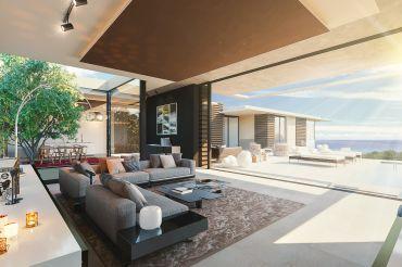 Luxus schlafzimmer mit meerblick  Neubauvilla mit viel Luxus und Meerblick in Santa Ponsa - Santa ...