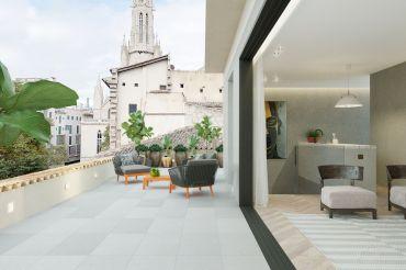 Penthouse über den Dächern von Palma