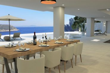 High-End Seafront Villa